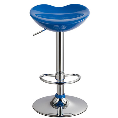 blue color coffee house stool ABS material seat lift rotation bar chair retail wholesale free shipping blue color coffee house stool abs material seat lift rotation bar chair retail wholesale free shipping