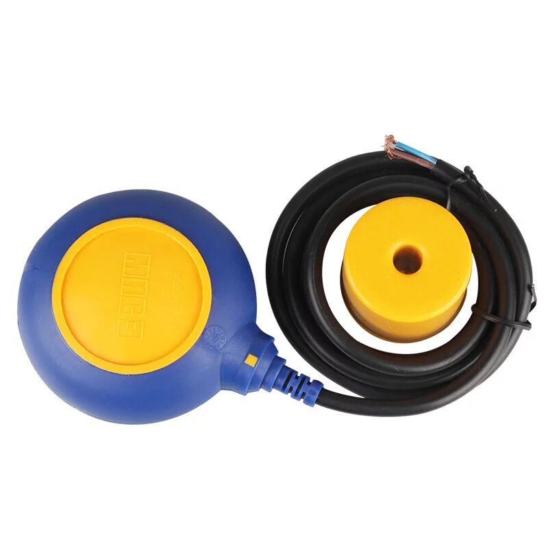 Float switch 2m liquid level switch pressure switch circular IP68 250V 10A Water Level control water pump float ball 4a 8a level float switch pp water level control for water pump water tower tank normally closed