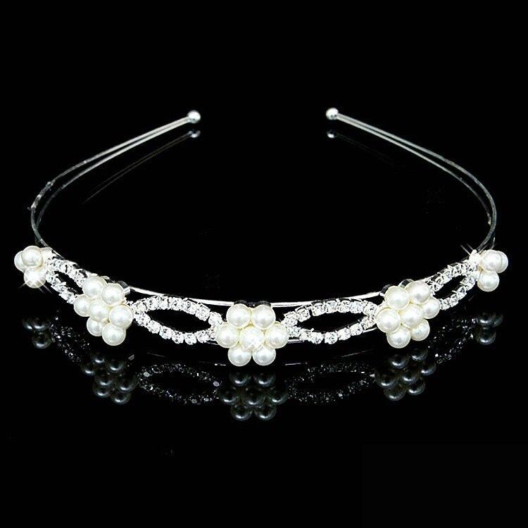 HTB1o9NjIFXXXXbrXFXXq6xXFXXXe Bejeweled Pearl And Rhinestone Crystal Bridal/Prom/Cosplay Crown Tiara - 16 Styles