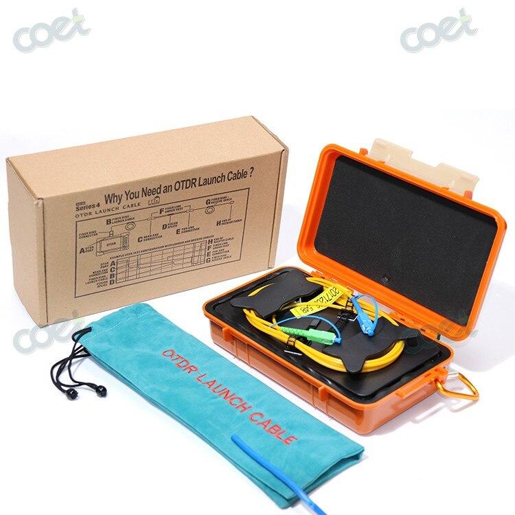 Single mode 1000M 1310/1550nm Fiber Optic OTDR Launch Cable Box