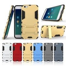 New Fashion Armor Bracket Stand Case For OPPO R9s / for OPPO R9s Plus   Protective Shockproof Cover Plastic Phone Cases