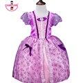 2017 Princesa de La Muchacha Vestido de Carnaval Disfraces para Bebés niño Vestido de Verano para Niñas Niños Vestidos de Fiesta Tutú Infantil vestido