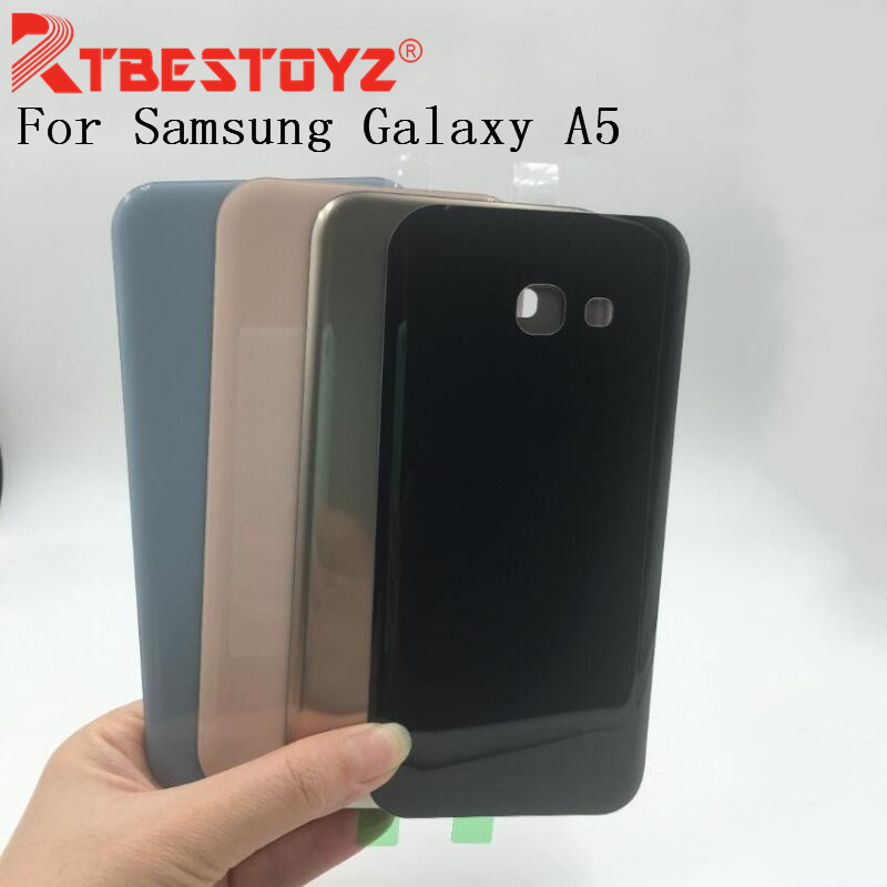 RTBESTOYZ For Samsung Galaxy A5 2017 A520 Battery Door Housing Cover Case For Samsung A520 Battery Cover Shell Replace