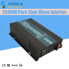 Off Grid Pure Sine Wave Solar Inverter 24V 220V 2500w Car Power Inverter 12V DC to 100V/120V/240V AC Converter Power Supply peak full power 500w solar inverter pure sine wave inverter car power inverter 12v 24v to 120v 220v dc to ac voltage converter