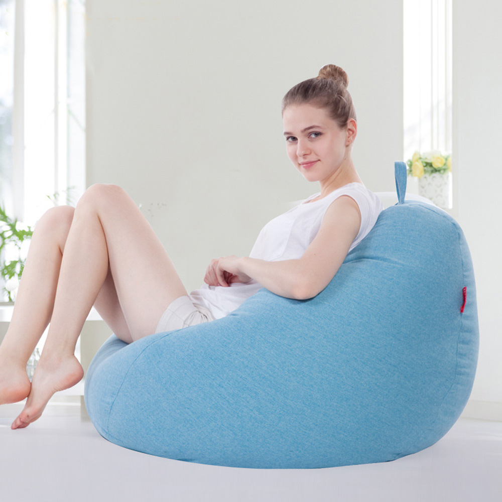 Amazing Us 78 6 40 Off Lazy Sofa Bean Bag Fabric Sofa Simple Color Single Sofa In Bean Bag Sofas From Furniture On Aliexpress Com Alibaba Group Caraccident5 Cool Chair Designs And Ideas Caraccident5Info