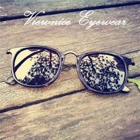 Viewnice New sunglasses Woman Luxury Retro Classic acetate Alloy Sun glass Polarized sunglasses Man Hot sale HD anti UV400 2446