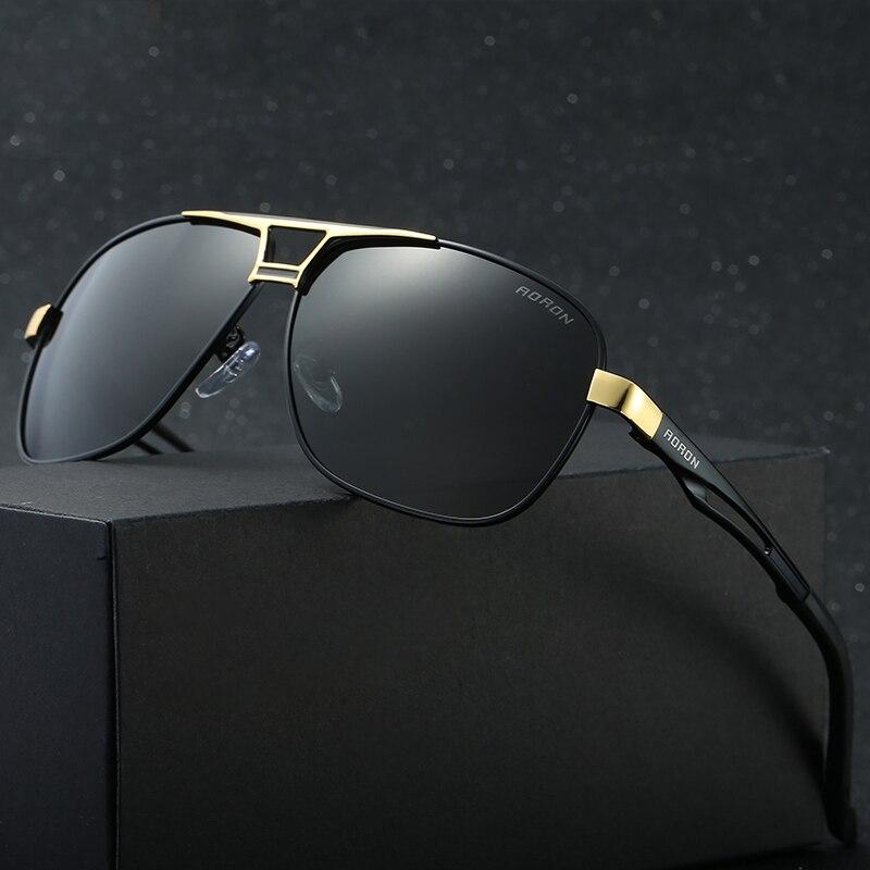 Hot cuadrado Gafas de sol hombre moda polarizada conducción Sol vidrio para  hombres marca diseñador Sol Gafas oculos polarizado gafas de sol f616ea658983