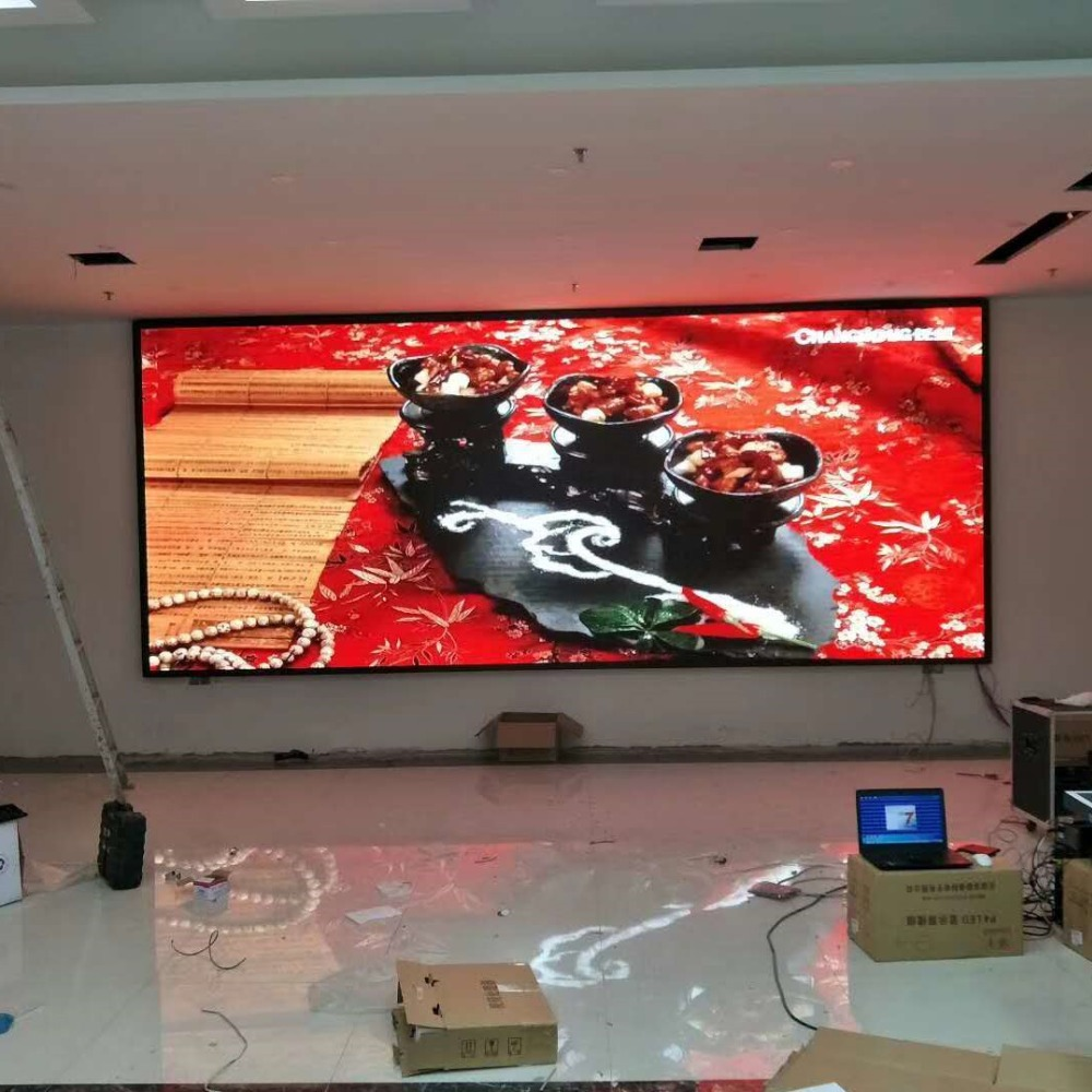 indoor outdoor full color led display panel video wall large flexible led video screen
