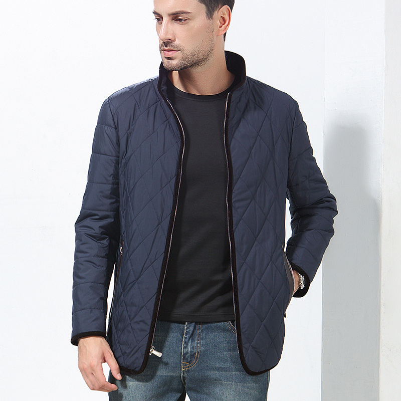 ФОТО 2017 Thick Fashion Patchwork Zipper Winter Autumn Winter Jacket Men Parkas Hombre Invierno Hot coton d'hiver