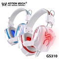 TOP!17 Blue LED Earcup 3.5mm Pro Gaming Headset Games Headphone For PS4 Laptop Pc