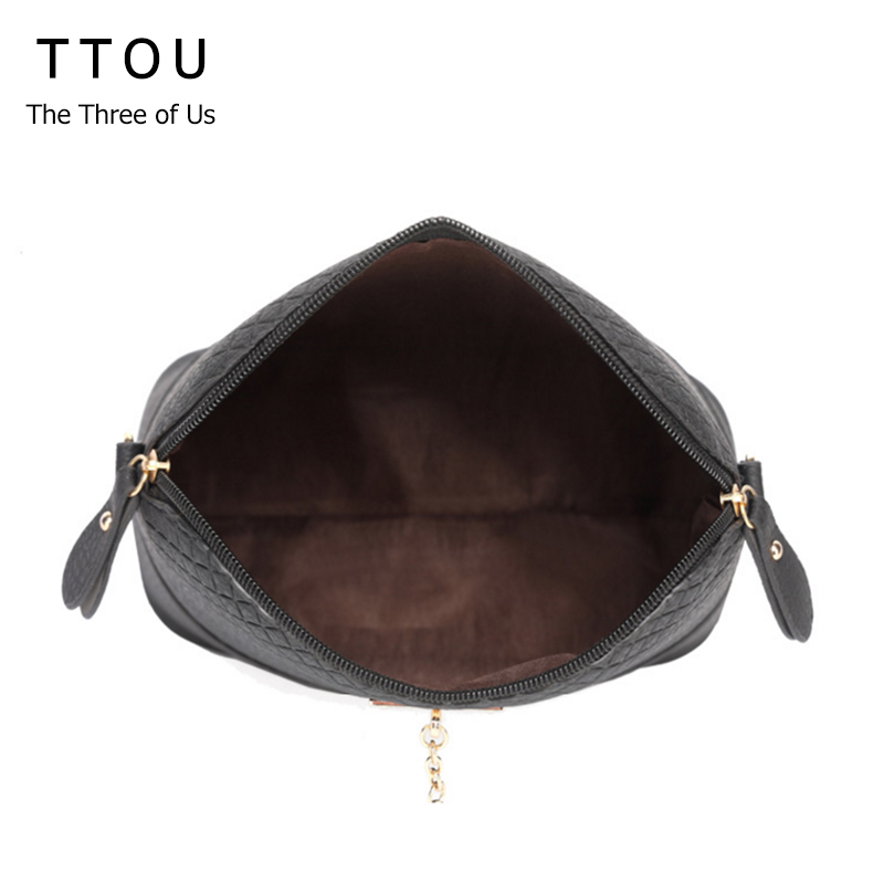 ttou mulheres messenger bolsa moda Decoration : Deer, Fur Ball
