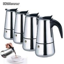 KITNEWER Hohe Qualität 100/200/300 ml/450 ml Edelstahl Espresso Maker Küche Drip Wasserkocher Tee topf Coffe Pot Kaffee Extractor