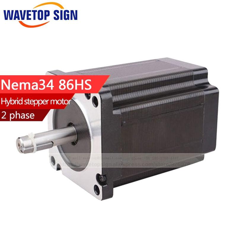 hybrid stepper motor nema34 86HS 2 phase 1.8