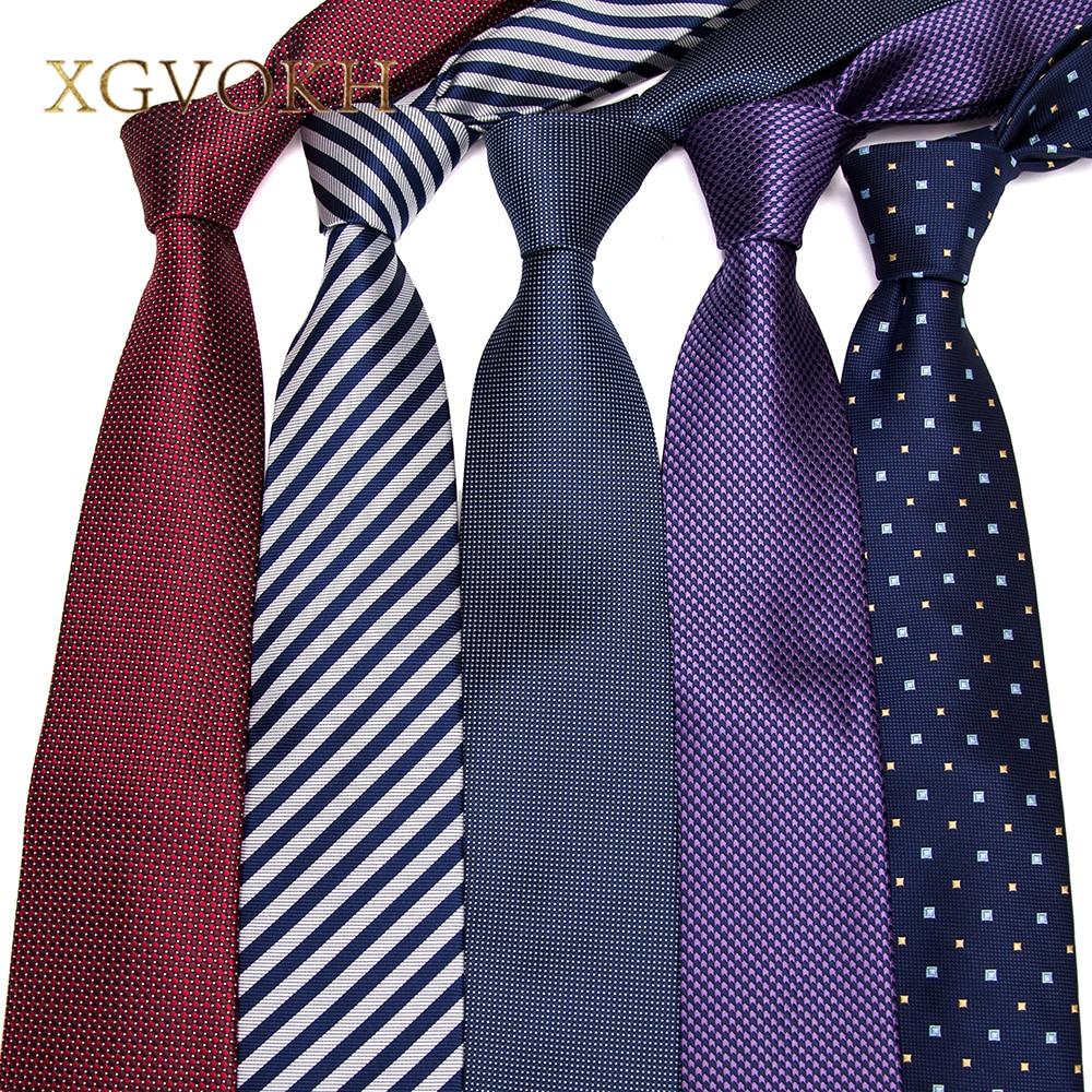 XGVOKH 1200 tűk nyakkendők csíkos nyakkendők férfiaknak 8cm szélességű klasszikus férfi Corbatas Gravata üzleti fél nyakruha poliészter nyakkendő