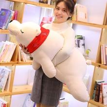 110-50cm Soft Large Animal Polar Bear Brown Bear Plush Toys Big Doll Sofa Pillow Birthday Christmas Gift for kids Children