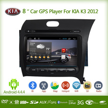 Promotion 8inch 2din android 4.4.4 car gps with camera and bluetooth for kia k3 2012 navigator navegador gps wireless 3