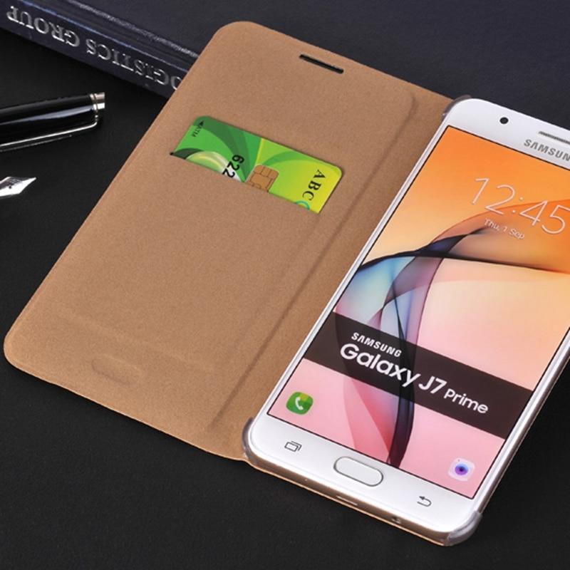 Samsung J5 Prime On5 2016 G570F Üçün Qırmızı Qapaq qabığı - Cib telefonu aksesuarları və hissələri - Fotoqrafiya 4