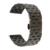 De liberación rápida de acero inoxidable venda de reloj de 22mm para moto 360 2 46mm 2015 de La Correa de Muñeca Correa de Pulsera de Plata Negro + Barra de Resorte + herramienta
