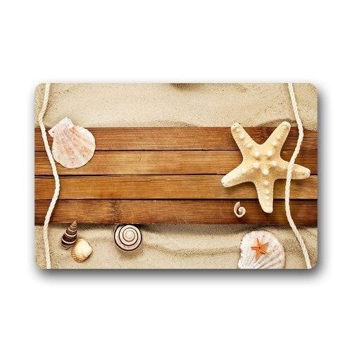 Memory Home Design Fashion Style Door Mat Decor Sand Shells Snail Starfish Beach  Doormat Floor Mat Bath Mat Indoor Outdoor Mat In Mat From Home U0026 Garden On  ...