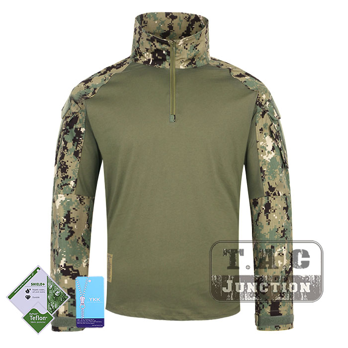 Tactical Emerson BDU G3 Combat Shirts Emersongear CP Style Battlefield Tops Assault Uniform Body Armor Apparel Marpat Digital emerson navy seals combat set bdu uniform aor1 mc at marpat woodland em6914