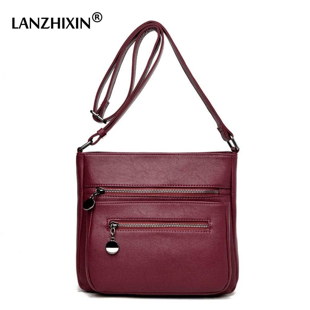 Lanzhixin Designer Handbags High Quality Women Leather Handbags women Messenger Bag Shoulder Bags Sac Small Crossbody