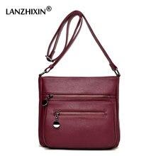 Lanzhixin Designer-handtaschen Hohe Qualität Frauen Leder Handtaschen frauen Umhängetasche Taschen Sac Kleine Crossbody Tasche 0582