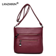 Lanzhixin Designer Handbags High Quality Women Leather Handbags women Messenger Bag Shoulder Bags Sac Small Crossbody Bag 0582