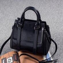 Designer-handtaschen hoher qualität kuh echtes leder taschen für frauen top-griff vintage casual tragetaschen Bolsa Femininas neue C346