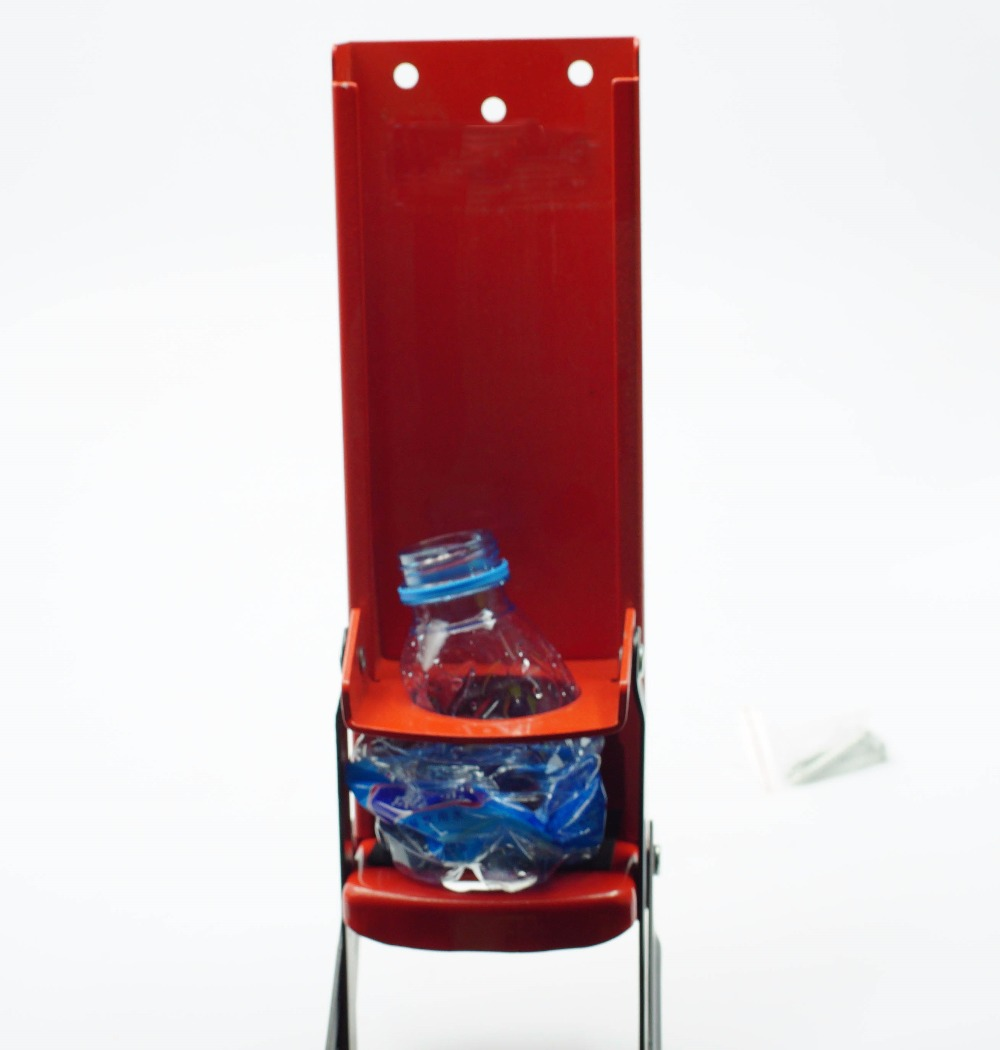 500ml Plastic Bottle Crusher Also Suitable For 16oz&12oz Cans&tins Use Professional Type With Reinforced Press Plate