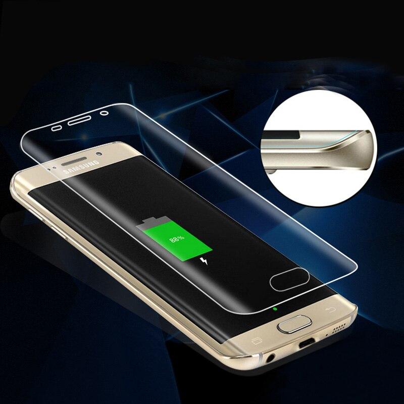 Pour Samsung Galaxy S7 Bord S6edge S6 Bord Plus Doux PET pas Trempé Verre Film S7 Bord 3D Couverture Complète Écran Incurvé protecteur