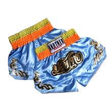 Combat MMA шорты-боксеры тайский бокс Boxeo тренировочные спортивные шорты высокое качество кик боксинга, фитнес, спорт, штаны для детей и взрослых