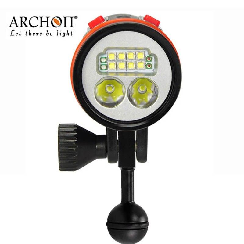 100% оригинал ARCHON D36VR W42VR обновленная версия D37VP W43VP фонарик УФ лампа для видеосъемки подводной фотографии факелы