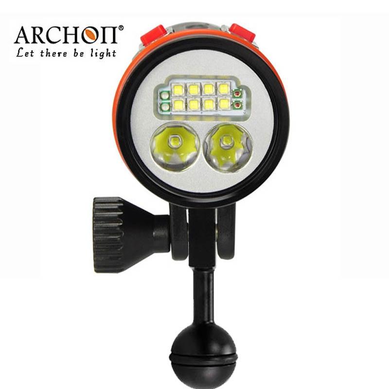 100% D'origine ARCHON D36VR W42VR version Améliorée D37VP W43VP UV lampe de Poche Plongée Vidéo Lumière Photographie Sous-Marine Torches