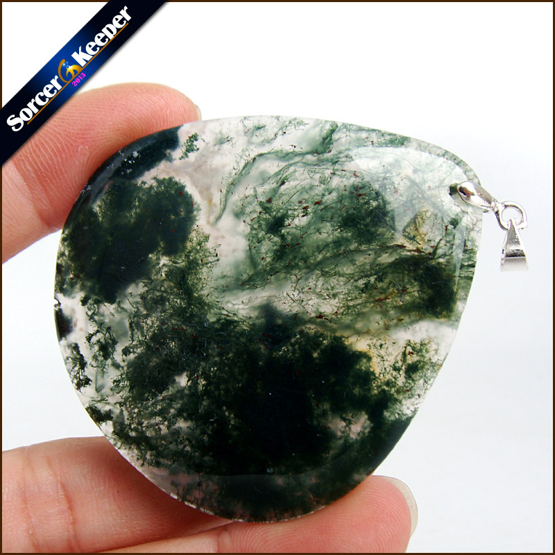 Unique Mens Jewelry Agates Natural Stone Pendants Statement Necklaces Wholesale Crystal Leather Chains Fashion Jewelly MS408