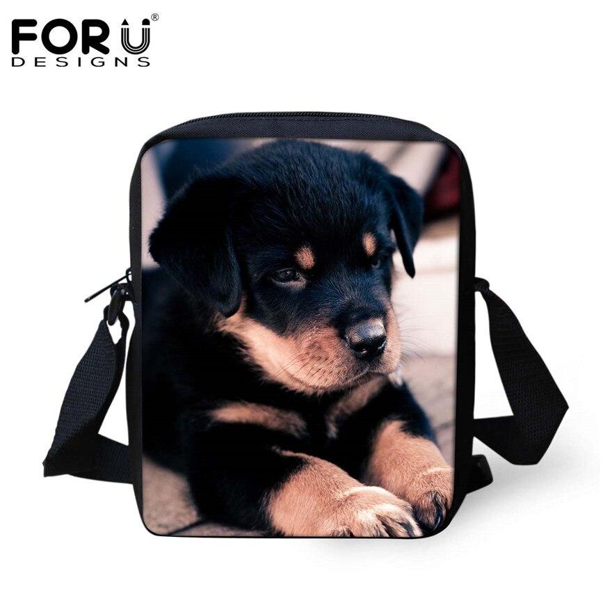 FORUDESIGNS/женская маленькая сумка через плечо с объемным рисунком собаки чихуахуа, модные женские сумки-мессенджеры, сумки через плечо - Цвет: H1053E