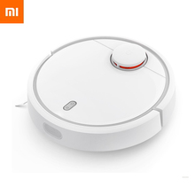 2016 Original XIAOMI MI Robot Vacuum Cleaner for Home Automatic Sweeping Dust Sterilize Smart Planned Mobile App Remote Control
