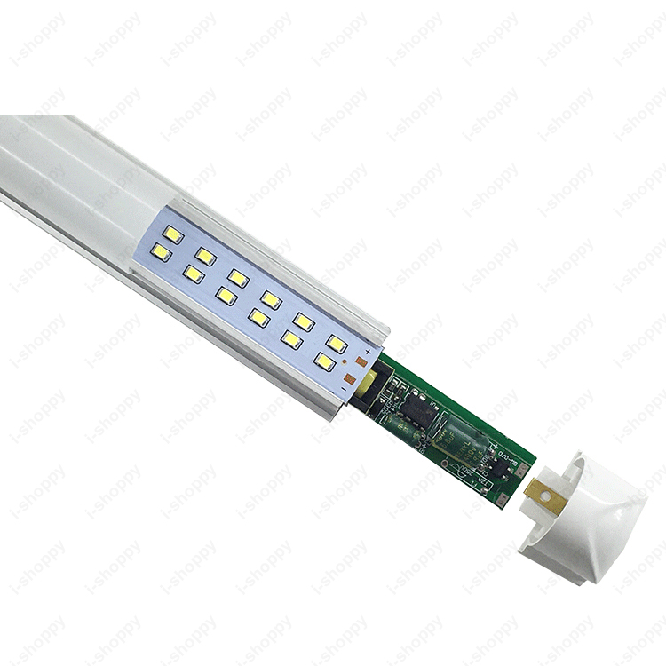 10 шт. 30 Вт Светодиодный интегрированная Светодиодная трубка 168 светодиодный s T8 Лампы светодиодные панели 90 см SMD 2835 Оптовая распродажа: прозрачные защитные пленки/молочно белый чехол - 5