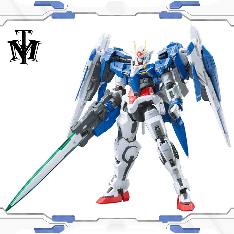 Bandai Genuine Rg 1 144 Anime Hg 00 Raiser Gundam Gn 0000 Model Assembled 13cm 00r Robot Action Figure Gunpla Cartoon Kids Toys Action Figures Aliexpress
