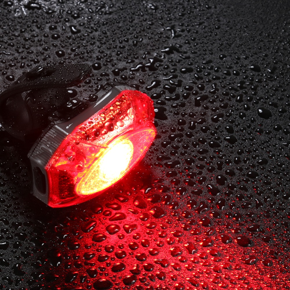 Bike Rear Light Waterproof Warning Taillight Bicycle LED Night Light Light-wrold Bicycle Tail light Bike Tail Light