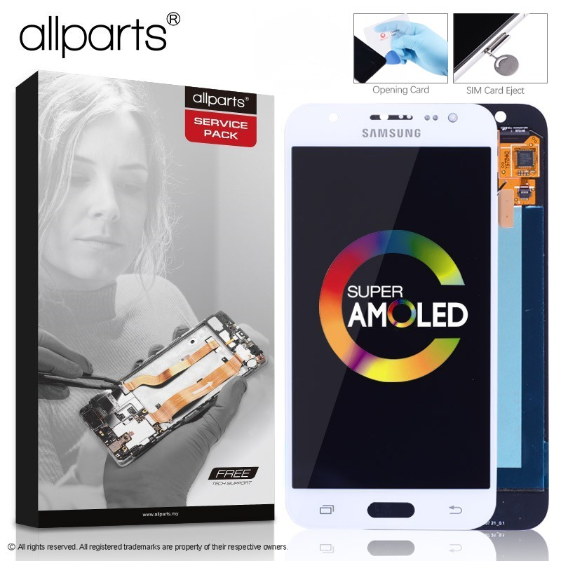 AMOLED Original Display für SAMSUNG Galaxy J5 2015 J500 LCD Touch Screen für SAMSUNG J5 2015 J500H J500FN J500F J500M SM-J500F