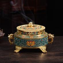 ERMAKOVA металлическая горелка для благовоний держатель благовоний шишки палочки катушки ладана держатели украшения дома подарок