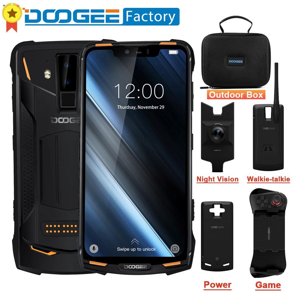 DOOGEE S90 Modulaire Robuuste Mobiele Telefoon NFC 6.18 FHD + Helio P60 Octa core Android 8.1 6GB 128GB 16MP 4G LTE Smartphone-in Mobiele Telefoons van Mobiele telefoons & telecommunicatie op AliExpress - 11.11_Dubbel 11Vrijgezellendag 1
