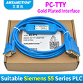 Amsamotion 6ES5 734-1BD20 кабель для <font><b>Siemens</b></font> S5 ПЛК серии Кабель для программирования PC-TTY Связь кабель PC TTY RS232 для S5