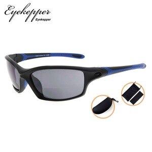 Image 3 - SG903 Eyekepper TR90 Frame Bifocal Sports Sunglasses Baseball Running Fishing Driving Golf Softball Hiking Readers