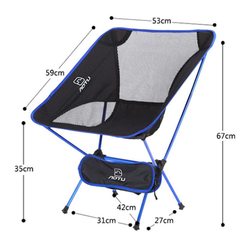 Portable Folding Seat Stool Fishing Camping Hiking Beach Picnic BBQ Chair  Levert Dropship 2jul13(China