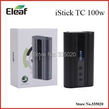 Original Eleaf iStick TC 100W Firmware Upgradeable Box Mod with VW/Bypass/TC Modes iStick TC 100W Electronic Cigarette