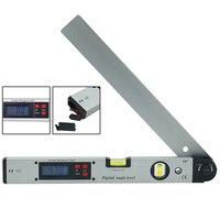 0 225 degree Level Inclinometer Digital Angle Level Meter Gauge 400mm 16inch Electronic Protractor slope tester Ruler
