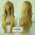 Panty & Stocking with Garterbelt Anarchy Panty Cosplay Wig Light Gold shaggy layered long cosplay costume wig synthetic hair