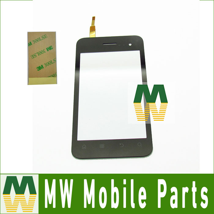 1PC Lot For Fly IQ255 Touch Screen Digitizer Touch Replacement Digitizer White Color with 3M Tape