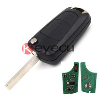 New Remote Key 2/3 Button 433MHz PCF7946 for Vauxhall Opel Corsa D 2007-2012